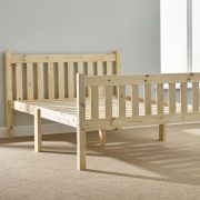 Athens 4ft Small Double Shaker Solid Pine Bed Frame