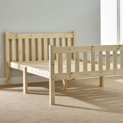 Athens 4ft 6 Double Shaker Solid Pine Bed Frame