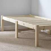 Avon 3ft Single Studio Solid Pine Bed Frame
