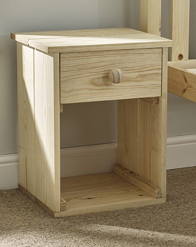 Goliath HEAVY DUTY Solid Pine Bedside Unit