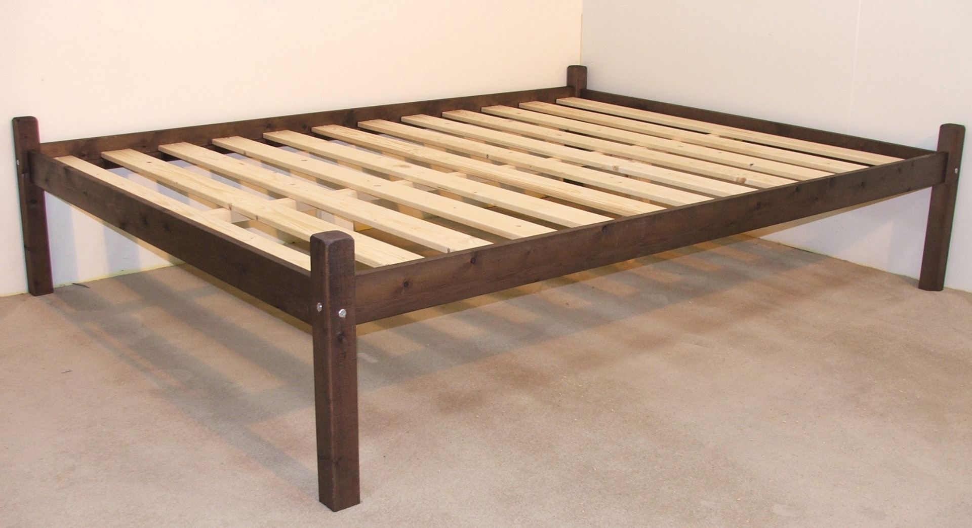 Bruno 4ft 6 Double Studio Solid Pine Bed Frame
