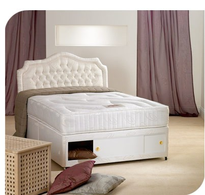 Albi 4ft Small Double 160cm Short Length Divan Set