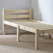 Cleveland 3ft Single Solid Pine bed frame