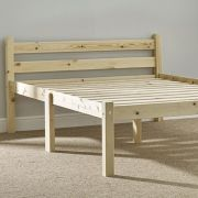 Cleveland 4ft Small Double Solid Pine Bed Frame
