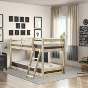 Courtland 2ft 6 Small Single Low Pine Bunk Bed
