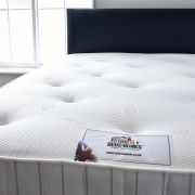 Oxford 3ft Single DUAL SEASON Memory Foam Sprung Mattress