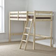 Oscar 3ft  Single SHORT LENGTH Pine Loft Bunk Bed