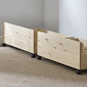 Under bed storage drawers - set of two storage underbed draws