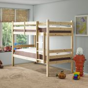 Plato 2ft 6 Small Single SHORT LENGTH HEAVY DUTY Solid Pine Bunk Bed