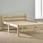 Samson 4ft 6 Double Solid Pine Bed Frame