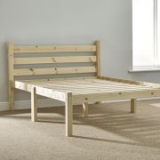 Somerset 4ft Small Double (SHORT LENGTH) Solid Pine HEAVY DUTY Bed Frame