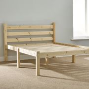 Somerset 4ft 6 Double Solid Pine HEAVY DUTY Bed Frame