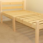 Thor 2ft 6 Small Single HEAVY DUTY Solid Pine bed frame