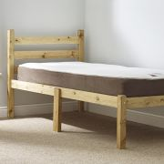 WAXED PINE 3ft Single HEAVY DUTY Bed Frame
