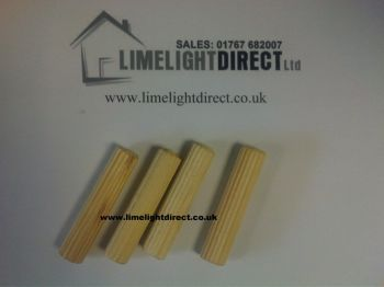 Large Dowel Rod To Join Bunks 10mm X 60mm Set Of Four