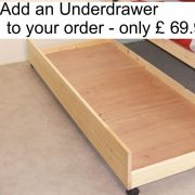 Large Storage Drawer, Solid Pine - FOUR SIZES