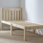 Amelia 2ft 6 Small Single HEAVY DUTY Solid Pine Bed Frame
