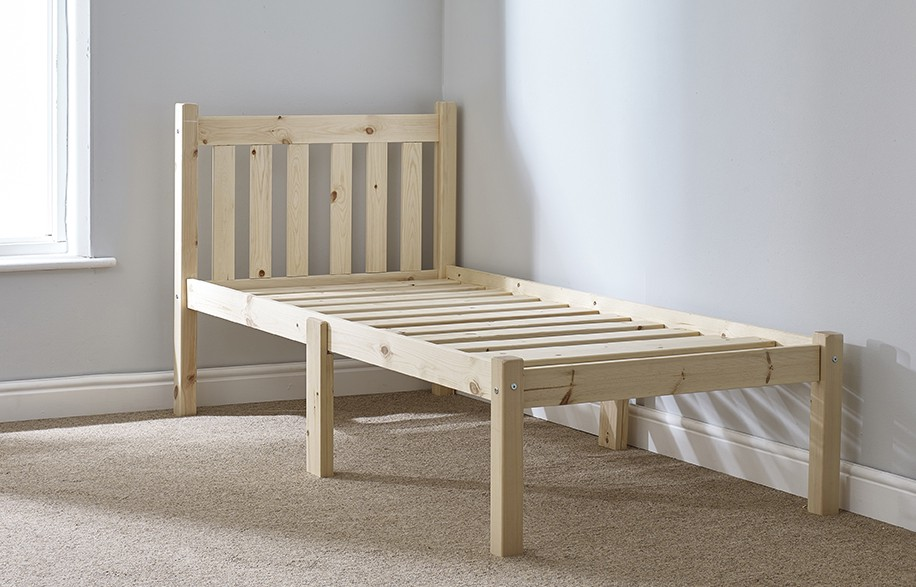 Amelia 3ft Single HEAVY DUTY Short Length Solid Pine Bed Frame