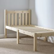 Amelia 2ft 6 Small Single HEAVY DUTY Short Length Solid Pine Bed Frame