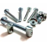 Pack of FOUR M6 90mm bolts and cross dowels