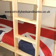 Pine Ladder - Natural hookover bunk ladder