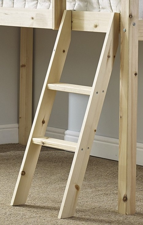Fantastic Cabin Bed Slanted Pine Ladder Gmtry Best Dining Table And Chair Ideas Images Gmtryco