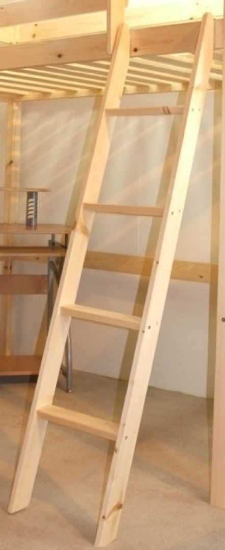 Bunkbed Ladder Solid Pine Bunk Bed Ladder