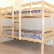 Chester 2ft 6 Small Single Solid Pine HEAVY DUTY Bunk Bed