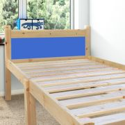 Cleveland Blue 2ft 6 Small Single Solid Pine Bed frame