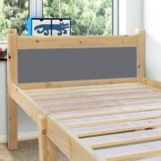 Cleveland Grey 2ft 6 Small Single Solid Pine Bed frame