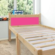 Cleveland Pink 2ft 6 Small Single Solid Pine Bed frame