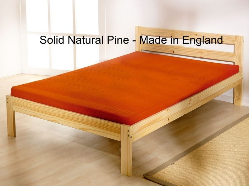 Cleveland 4ft double SHORT LENGTH (173cm) pine bed