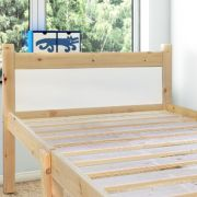 Cleveland White 2ft 6 Small Single Solid Pine Bed frame