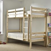 Everest 2ft 6 Small Single HEAVY DUTY Solid Pine HIGH Bunk Bed