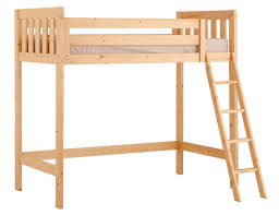 Goodwood 3ft Single HEAVY DUTY Solid Pine HIGH SLEEPER Bunk Bed