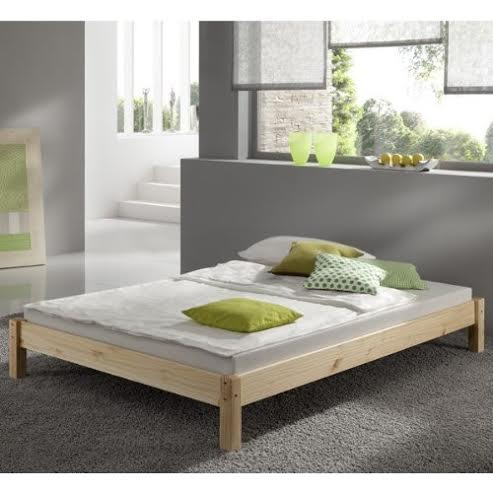 Kansas 2ft 6 Small Single natural studio bed frame