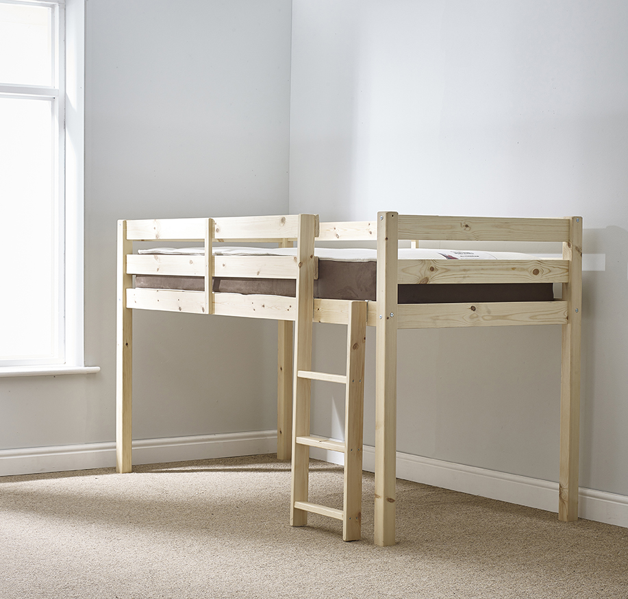 Molly 3ft Single SHORT LENGTH Solid Pine Cabin Bed