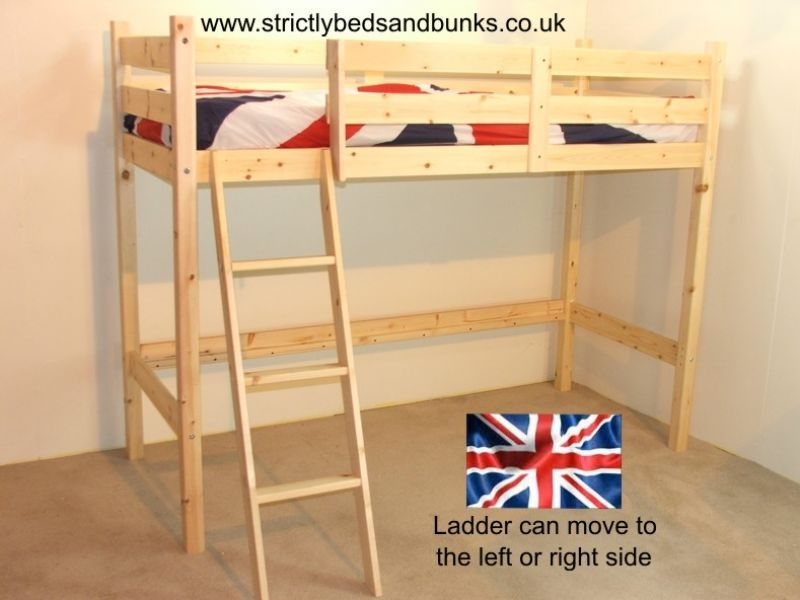 Single Loft Bunk Beds 800 x 600