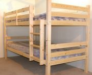 Plato 4ft Small Double HIGH heavy duty pine bunk bed