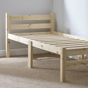 Samson 3ft Single HEAVY DUTY Solid Pine Bed Frame