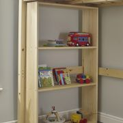 4ft Small Double Heavy Duty Solid Pine Bookcase