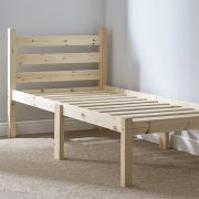Somerset 2ft 6 Small Single Solid (SHORT LENGTH) Pine bed frame