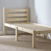 Somerset 3ft Single Solid (SHORT LENGTH) Pine bed frame
