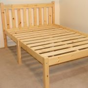 Zues 4ft Small Double  HEAVY DUTY Solid Pine Bed Frame